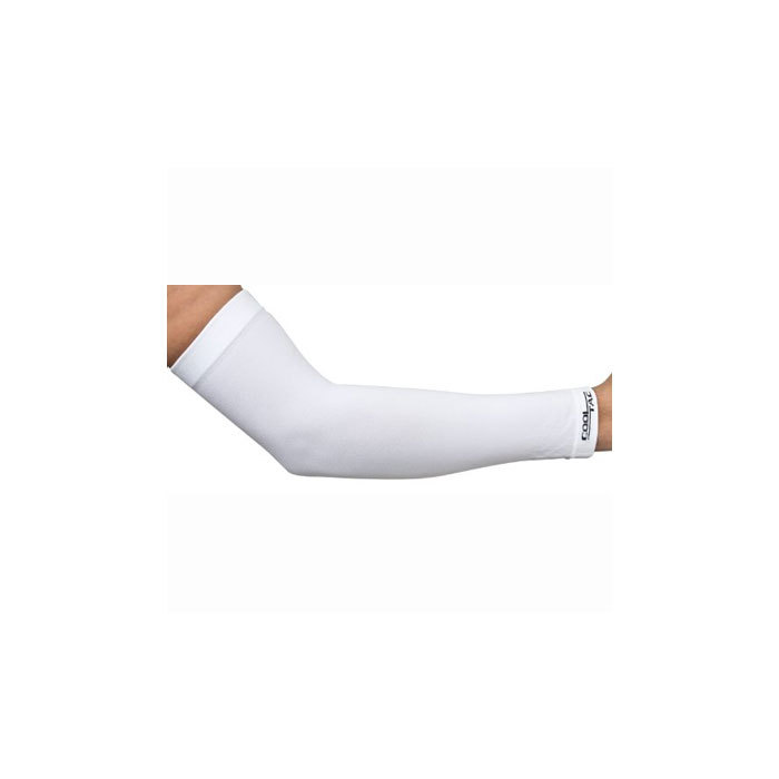 7c288904eb Cool Tac Arm Guard Compression Sleeves Pair - White L - GTX