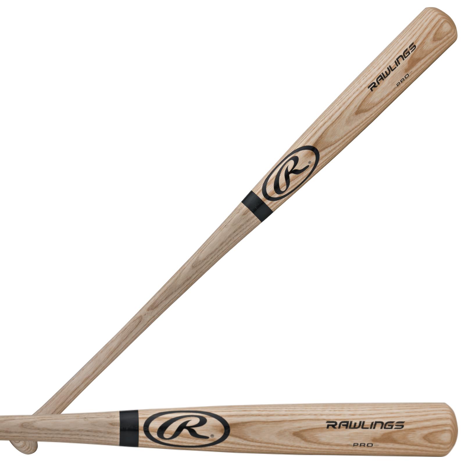 Rawlings R232AN Adirondack Natural Ash Baseball Bat - ADULT