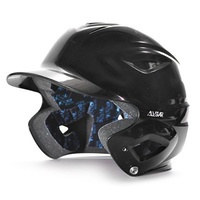 All Star S7™ YOUTH Solid Gloss Batting Helmet - Black
