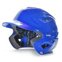 All Star S7™ YOUTH Solid Gloss Batting Helmet - Royal