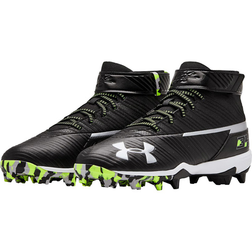Under Armour Harper 3 MID Moulded Cleats - Black