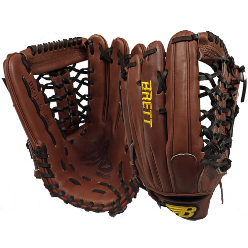 Brett Spirit Pro KIP Leather Outfield Glove 12.5 inch