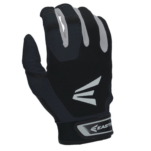 Easton HS3 Hyperskin Youth Batting Gloves - Black