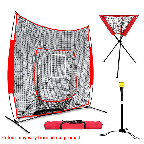 FLEX Portable Deluxe Combo Training Set - Baseball/Softball/Tee Ball