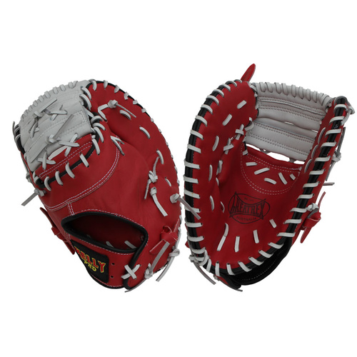 Kelly Pro First Base Glove - Red/White 13 inch