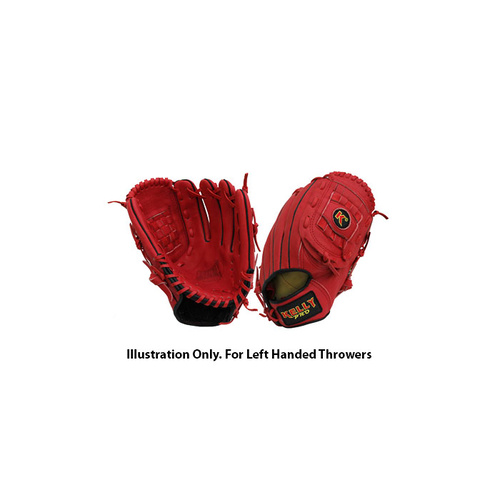 Kelly Pro KPS KIP Leather Glove Red - 12.5 inch LHT