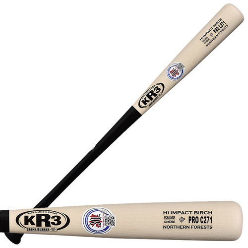 KR3 Hi Impact Birch C271 Baseball Bat