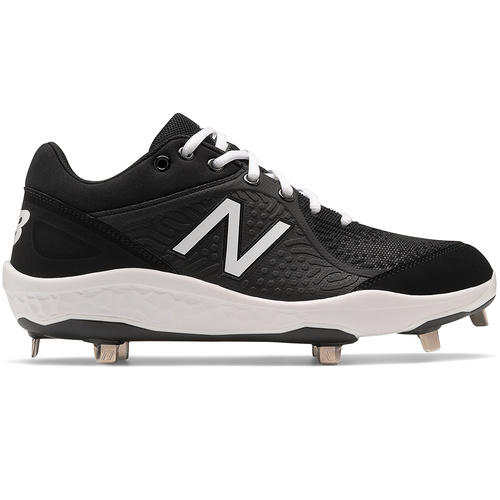 New Balance L3000v5 2E Fit Metal Cleats - Black