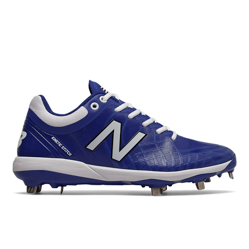 New Balance L4040v5 Metal Low Cleats Blue