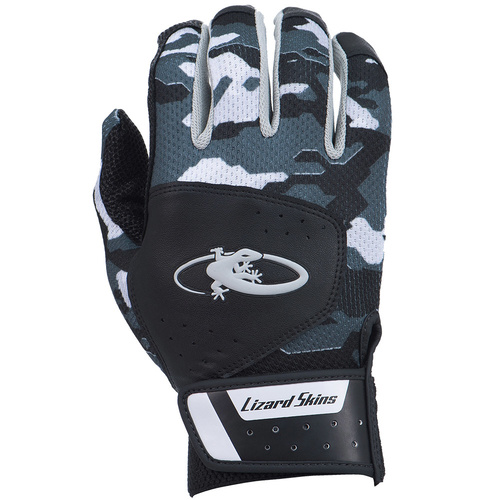 Lizard Skins Komodo Batting Gloves - Black Camo