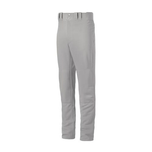 Mizuno Premier Adult Belt Loop Pants - Grey