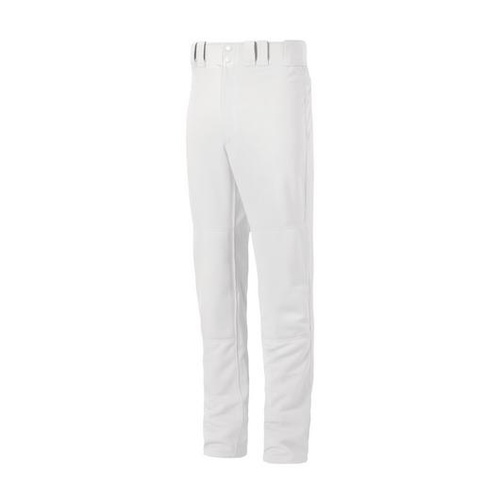 Mizuno Premier Adult Belt Loop Pants - White