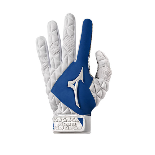 Mizuno Techfire Batting Gloves - Royal CLEARANCE