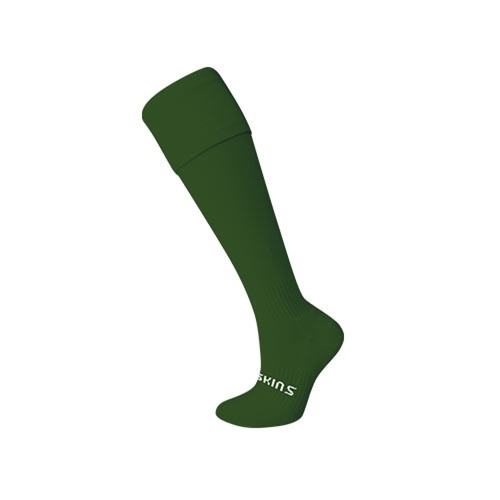 Thinskins Plain Baseball/Softball Socks - Green