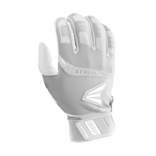 Easton Walk-Off Adult Batting Gloves - White