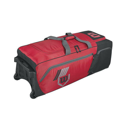 Wilson 2017 Pudge 2.0 Bag on Wheels - Red