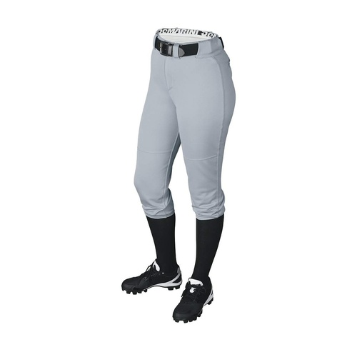 DeMarini WOMEN'S Fierce Baseball/Softball Pants - Grey