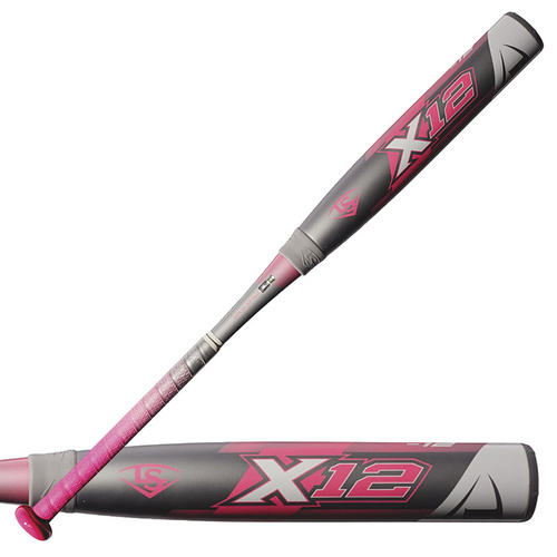 Louisville Slugger 2018 X12 Composite Softball Bat (-12oz)